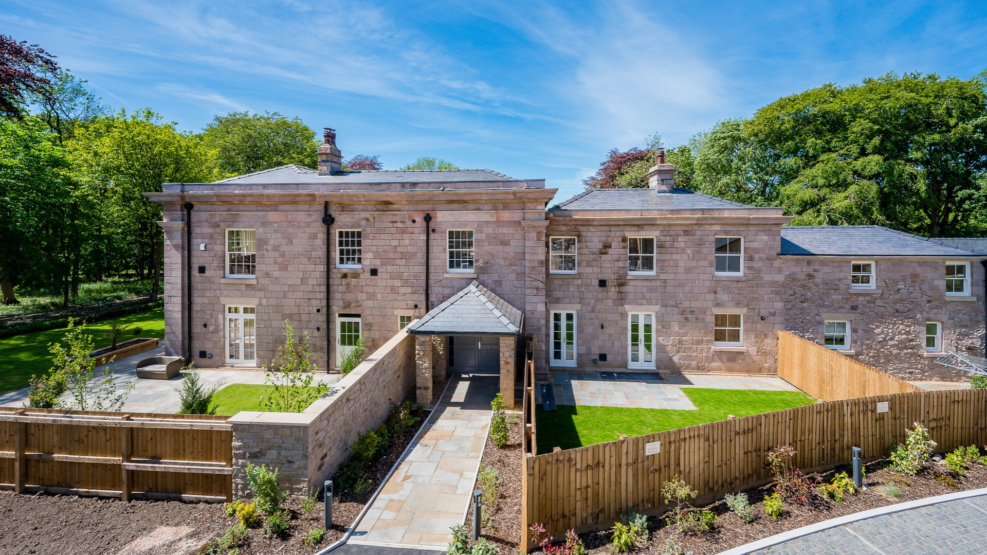 Withnell Hall Gardens Brindle Homes